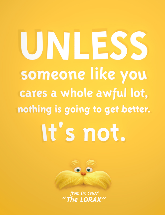unless the lorax and open source